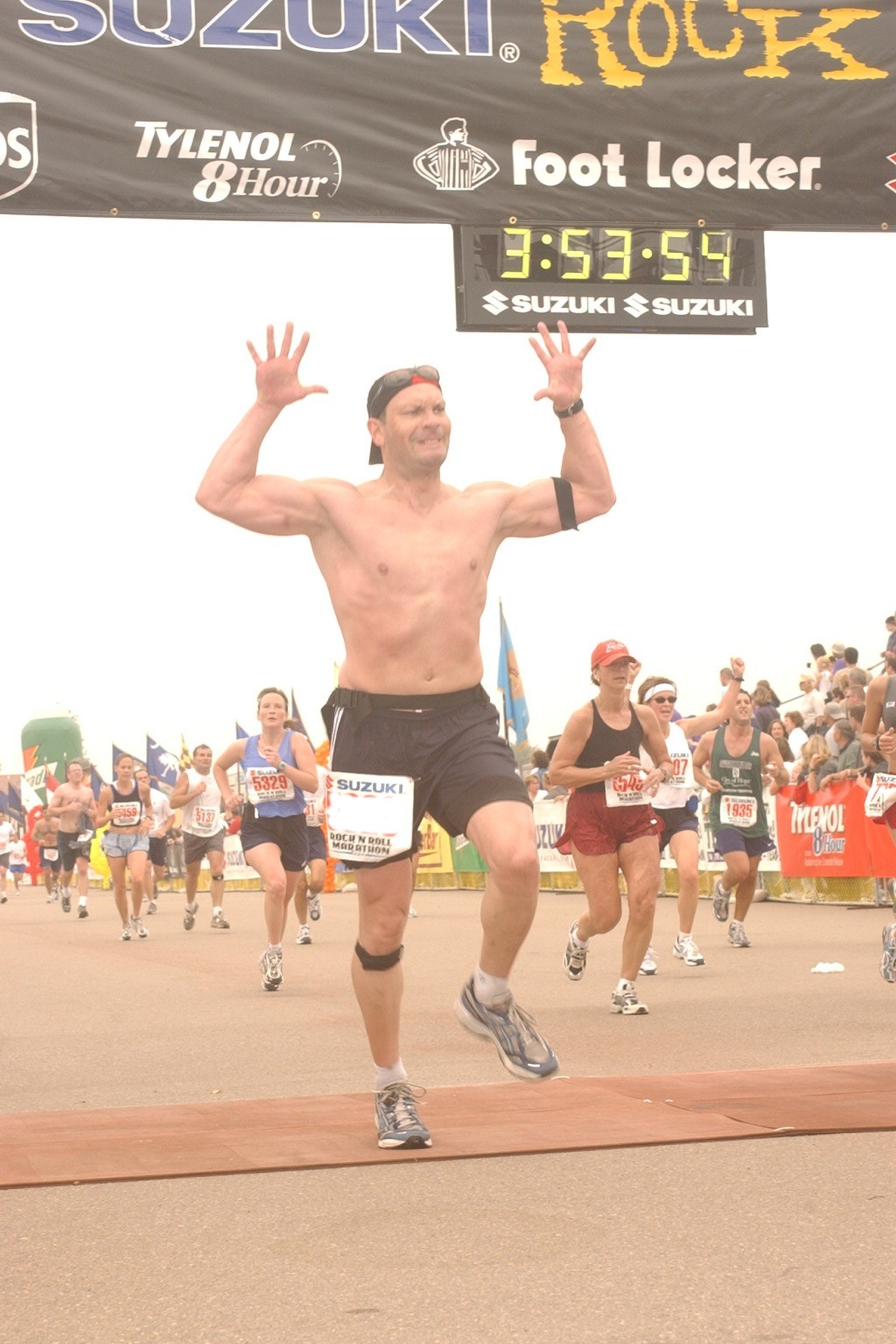 Crossing the line for Marathon #40 and crossing it off the list